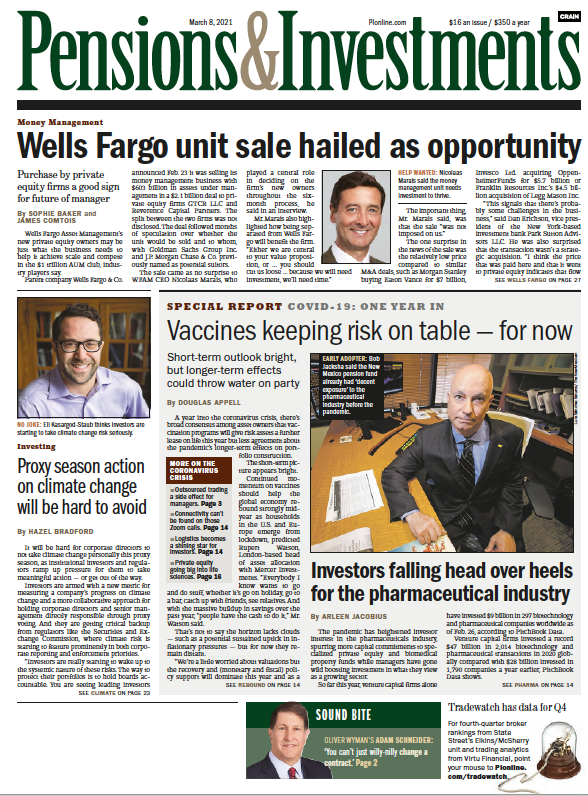 March 8 Page one