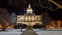 The New Hampshire Capitol in Concord
