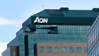 Aon logo building