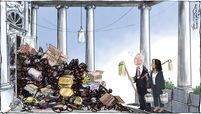 Biden-Harris cartoon