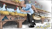 CalPERS governance cartoon