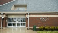The Huber Heights Police Station stands in Huber Heights, Ohio, on Dec. 21, 2013