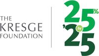 Kresge 25 for '25 logo