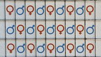 symbols for male and female gender
