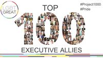 100 Executive Allies logo