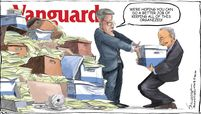 Vanguard cartoon