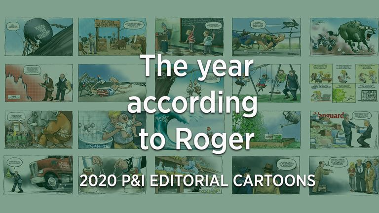 Cartoons depict a year like no other