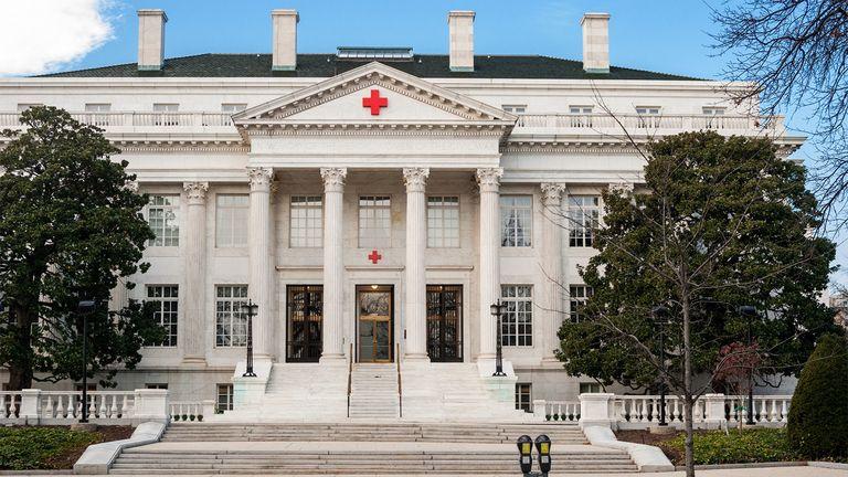 American Red Cross national headquarters in Washington