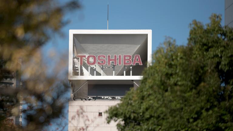 Toshiba shares up 18% on CVC takeover bid