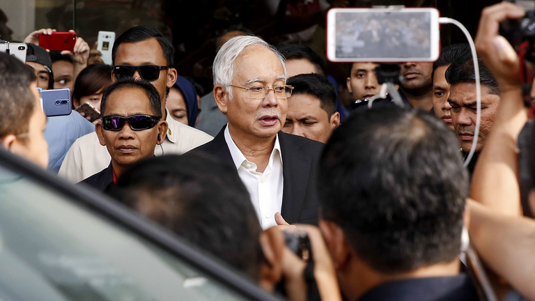 Police seize bags filled with $29 million cash in 1MDB probe