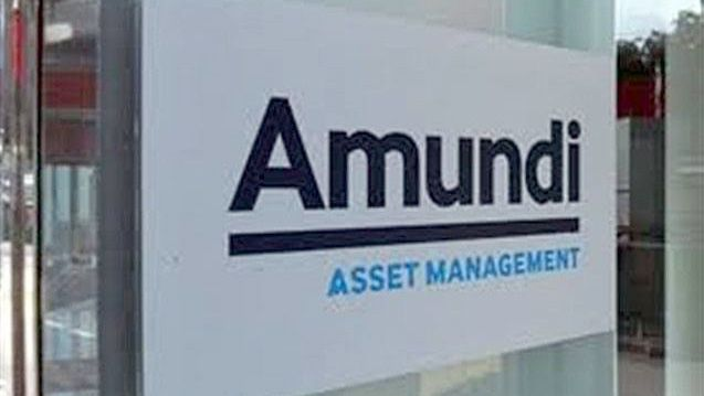 An Amundi Asset Management sign