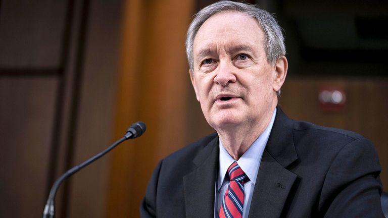 Senate Banking Committee Chairman Mike Crapo, R-Idaho