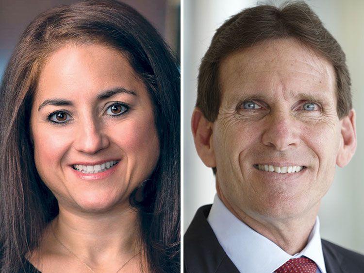 Katherine El-Hillow and Kevin Klingert