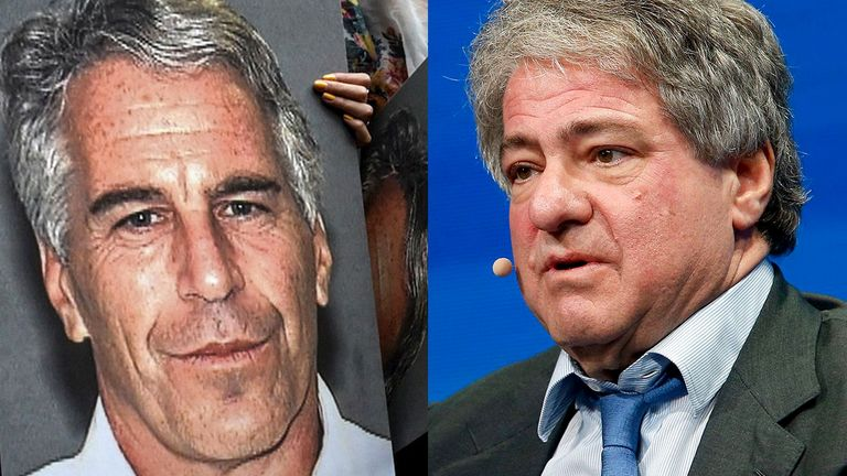 Jeffrey Epstein and Leon Black