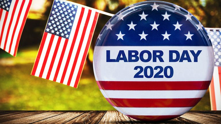 2020 labor day badge