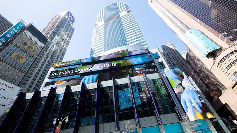 Morgan Stanley headquarters in New York