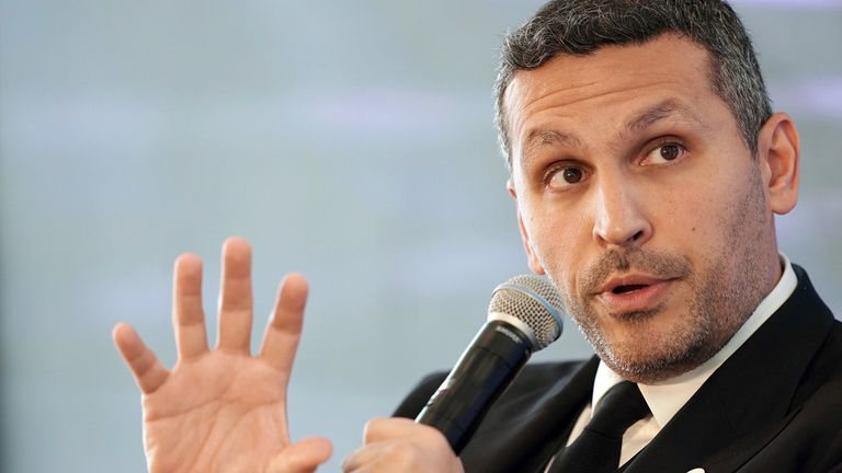 Khaldoon Al Mubarak, chief executive officer of Mubadala Investment Co.