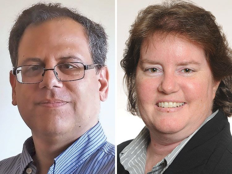 Larry Rothman and Colette Jordan