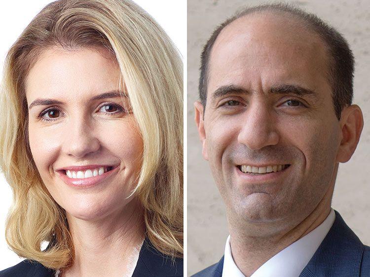 Kimberley Stafford and Alec Kersman
