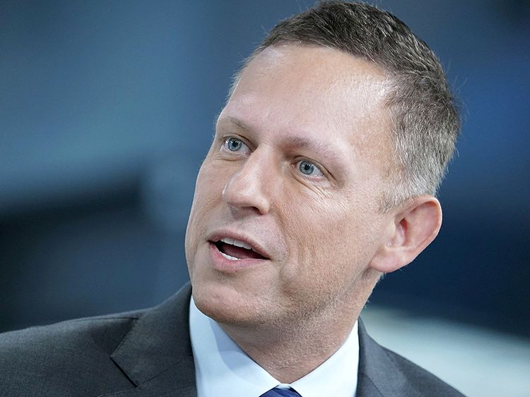 Billionaire entrepreneur and venture capitalist Peter Thiel