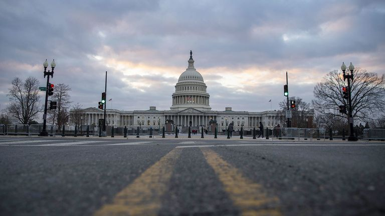 The U.S. Capitol in Washington on Dec. 18, 2020