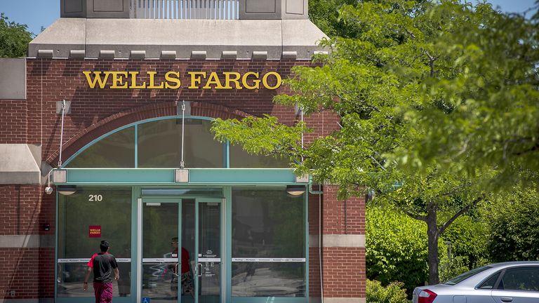 Wells Fargo storefront