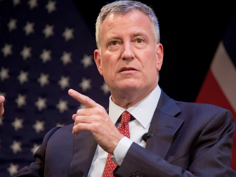 New York mayor proposes city-managed IRA for private-sector workers