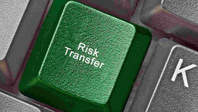 A keyboard with a Risk Transfer key