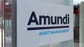 An Amundi Asset Management sign