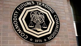 The seal of the Commodity Trading Futures Commission in Washington