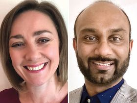 Helen Gilchrist and Jayesh Patel
