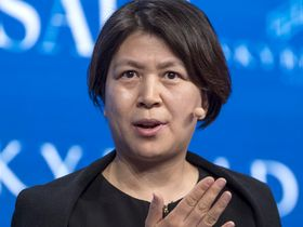 China Investment Corp. Executive Vice President Zhao Haiying
