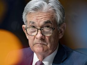 Jerome Powell, chairman of the Federal Reserve, listens during a Senate Banking Committee hearing in Washington on Dec. 1, 2020