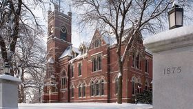 Smith College in winter