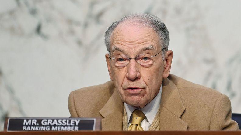 Sen. Chuck Grassley, R-Iowa
