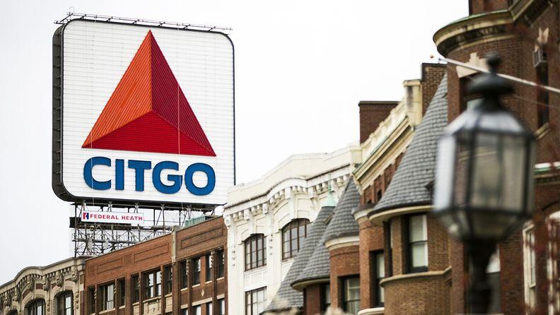A Citgo sign near Boston University in Boston