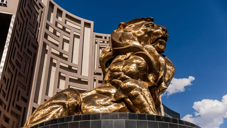 The MGM Grand Hotel and Casino in Las Vegas