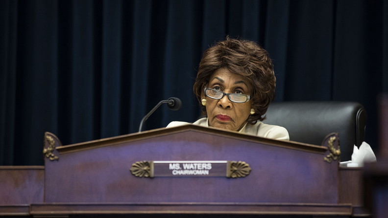 Rep. Maxine Waters, D-Calif., and chairwoman of the House Financial Services Committee