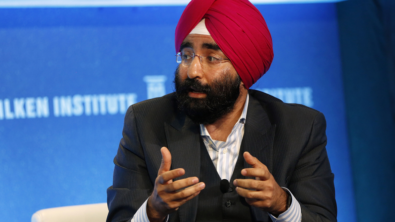 Jagdeep Bachher, the University of California's chief investment officer