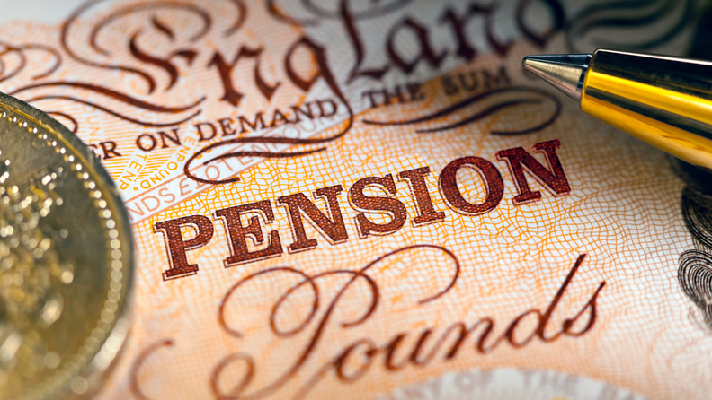 pension fund pounds England