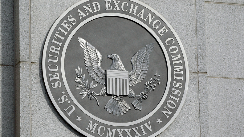 The seal of the Securities and Exchange Commission, Washington