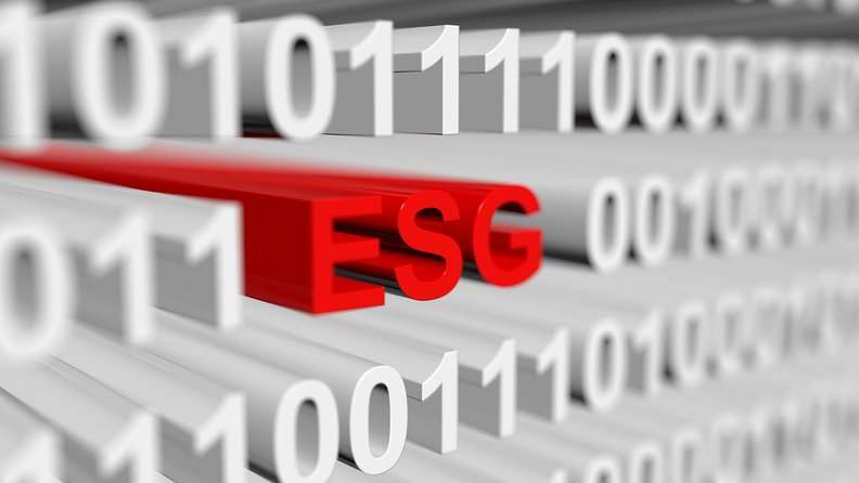 ESG letters amid zeroes and ones
