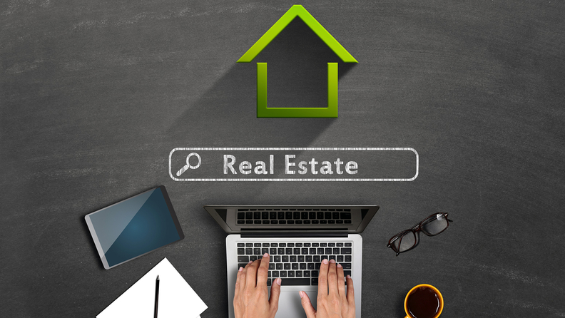 Real estate house computer