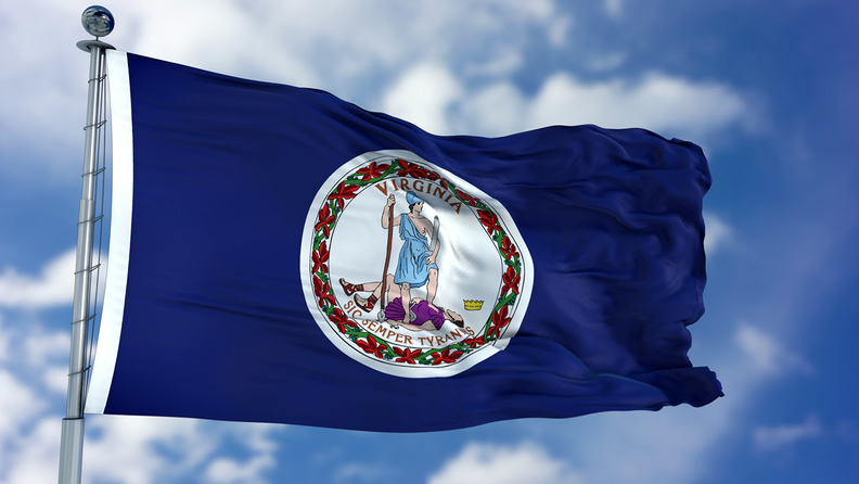 Flag of the Commonwealth of Virginia