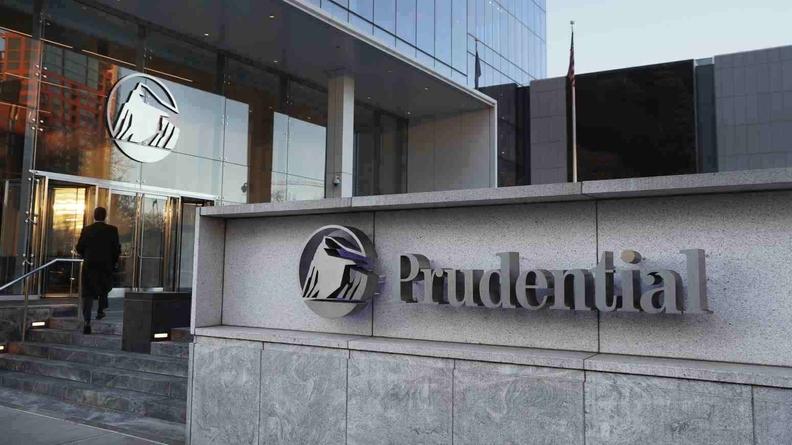 Prudential Financial Inc. Tower in Newark, N.J.