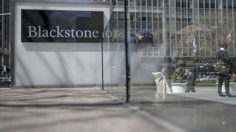 Blackstone headquarters in New York City