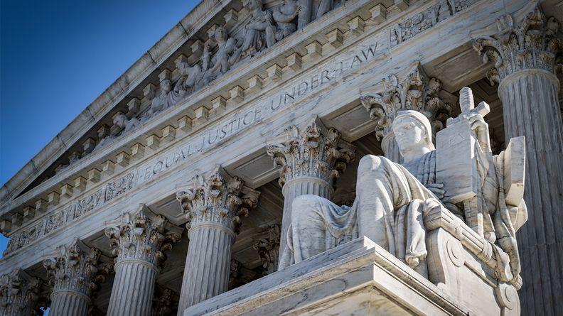 U.S. Supreme Court building, Washington