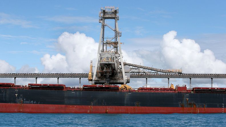 Abbot Point export terminal, controlled by Adani Group