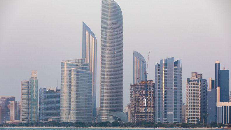Skyscrapers in Abu Dhabi, United Arab Emirates, on Oct. 2, 2019