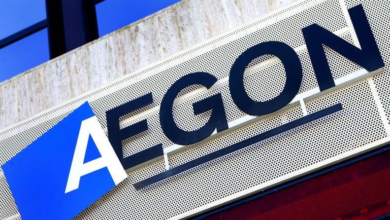 Aegon logo headquarters